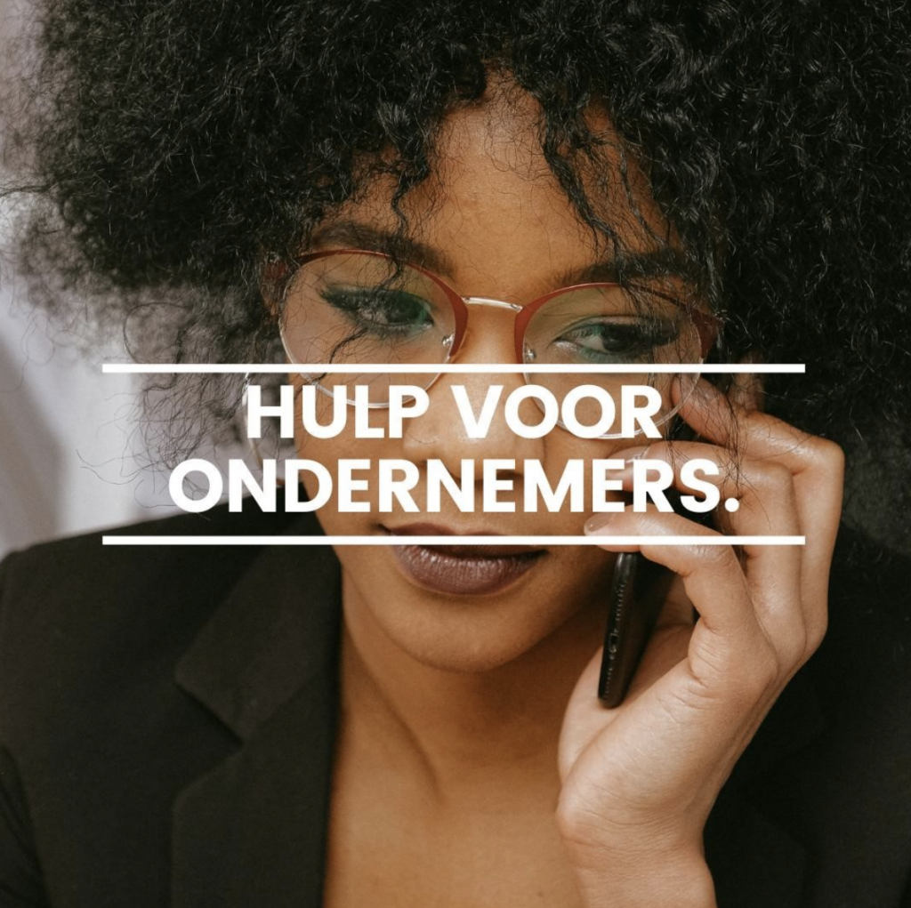 de luisterlijn voor ondernemers