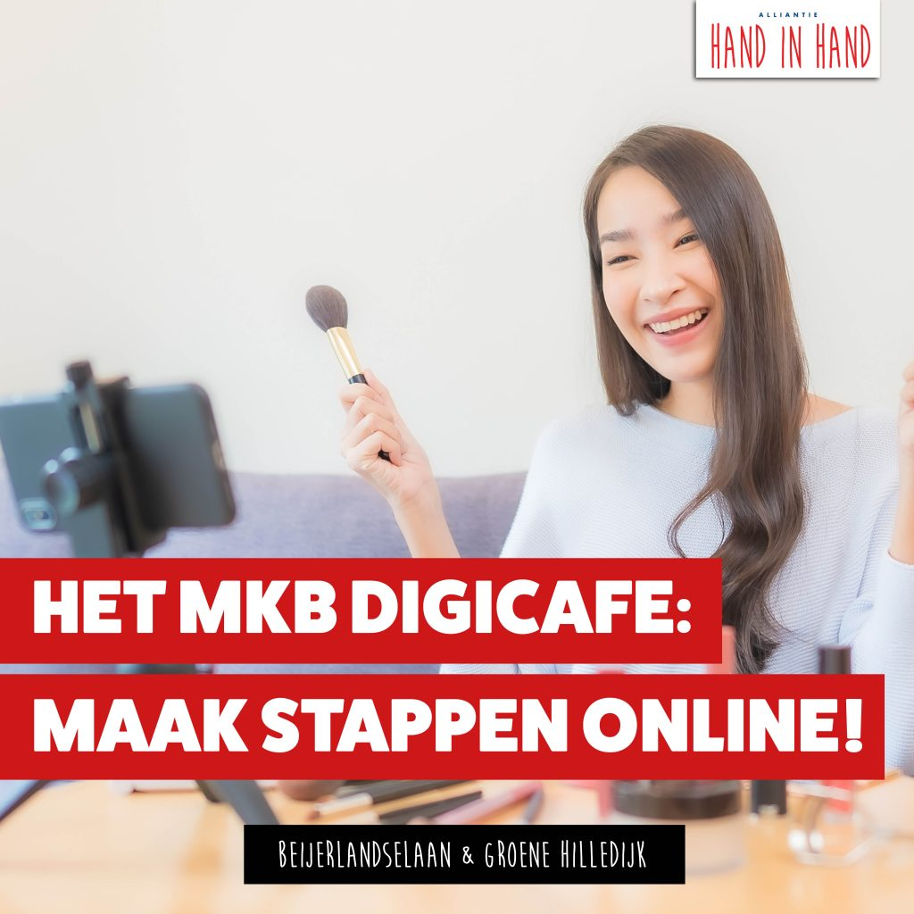 TIP VOOR ONDERNEMERS: MKB digicafe thema online & social marketing